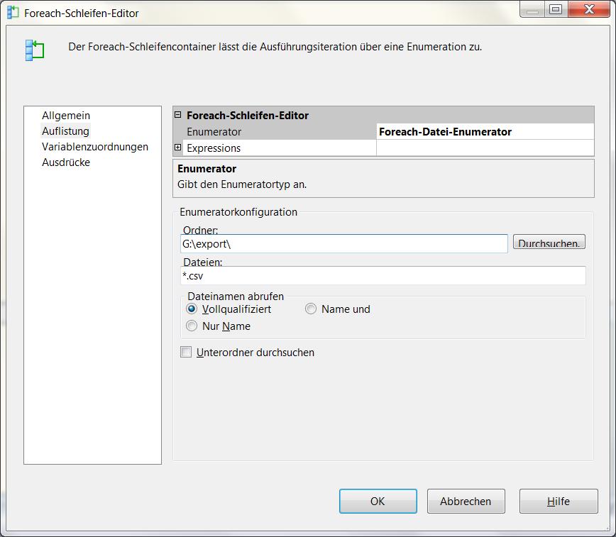 2013-01-11_crew_Foreach-Schleifen-Editor