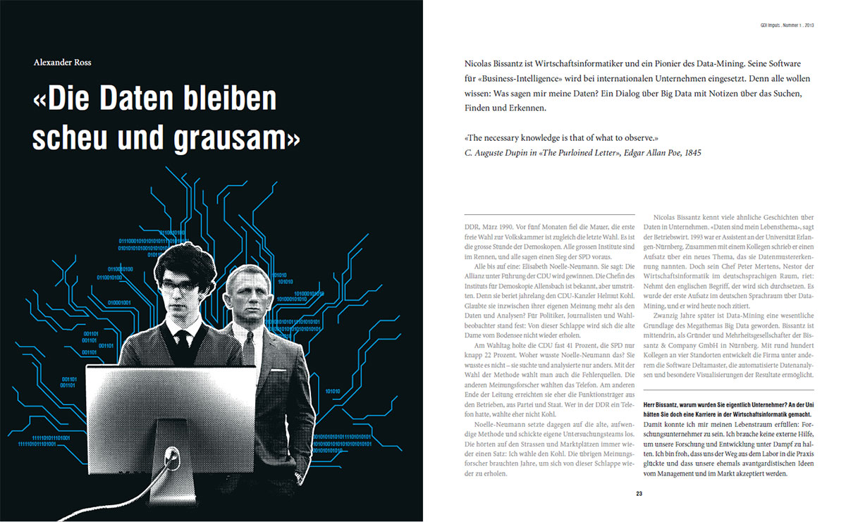 Interview Nicolas Bissantz in GDI Impuls