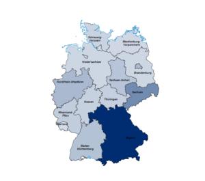 Geo-Analyse nach Bundesländern
