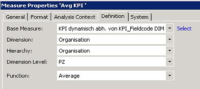 Eigenschaften univariater Statistik-Analysewerte