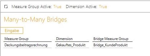 Bridge Measuregruppe an die vorhandene Measuregruppe anbinden