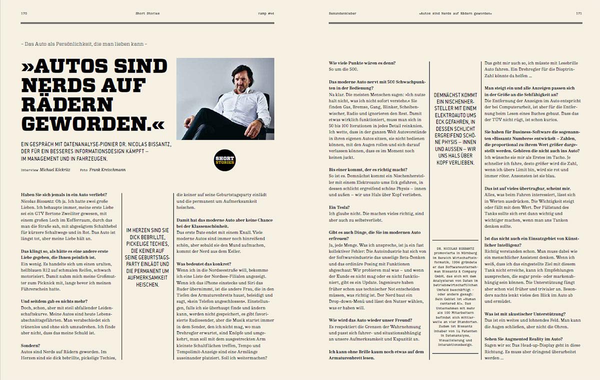 Interview Nicolas Bissantz ramp 46/2019