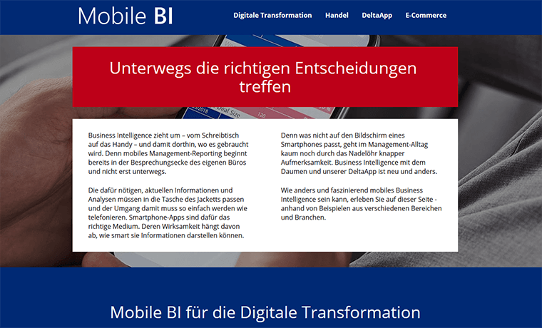 Mobile BI